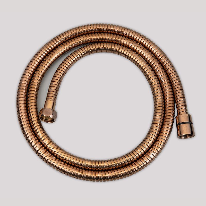 Customized Rose Gold Shower Hose 3366
